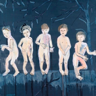 CHILDREN'S GAMES//OIL ON CANVAS//150X150//2014