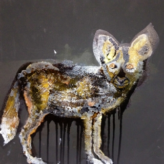 Jackal//oil on canvas//2011